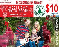 Our 10$ #weekend photo booth starts the day after thanksgiving! 12-4pm... come it and play at Twin H Tree Farms Inc. and @JealousyJane Couture! http://ift.tt/2oZrWrO #bloomington #indiana #christmastree #photobooth #shoplocal #familyphotography #indianapolis #treefarm #family #photo