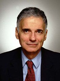 Ralph Nader - Born: 27-Feb-1934;  Birthplace: Winsted, CT [Bell's pal·sy = paralysis of the facial nerve, causing muscular weakness in one side of the face.]