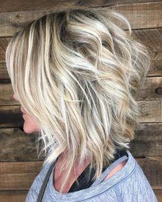 66 Chic Short Bob Hairstyles & Haircuts for Women in 2019 - Hairstyles Trends Cute Bob Haircuts, Bob Haircuts For Women, Choppy Bob Hairstyles, Inverted Hairstyles, Simple Hairstyles, School Hairstyles, Pixie Haircuts, Braided Hairstyles, Wedding Hairstyles