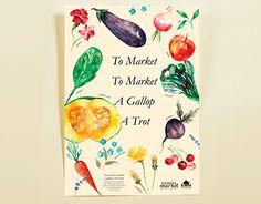 Ann Arbor Farmers Market Poster