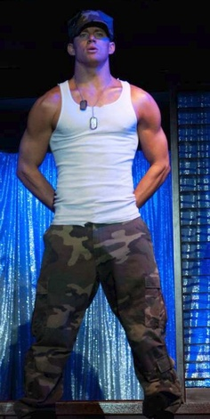 yes please.... channing tatum <3