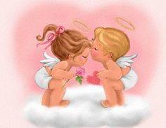 Imagen de angelitos de amor - http://www.imagenesdeamor.pro/2013/06/imagen-de-angelitos-de-amor.html