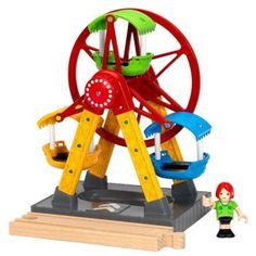 Parc d'attractions : Grande roue son et lumière