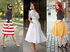 Midi Skirts- time to go shopping