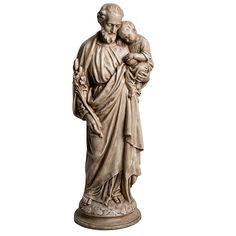San José con el Niño 61cm Bethléem piedra P | venta online en HOLYART