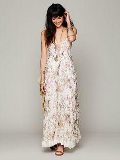 Mes Demoiselles Paris Heidi Printed Floral Dress at Free People Clothing Boutique