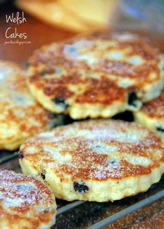 Welsh Cakes _  Sometimes the simplest recipes are the best. Take Welsh Cakes, for example. It just doesn't get much more basic and simple than Welsh Cakes, yet they are pretty much one of the tastiest things on the planet! English Dessert Recipes, English Food Recipes, British Food Recipes, American Food Recipes, British Meals, British Dishes, Welsh Recipes, Scottish Recipes, Ethnic Food Recipes
