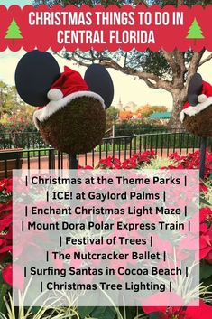 This guide has all the details for dozens of Central Florida Christmas events going on in 2020. Find out all the best holiday activities in Orlando, Tampa and more! #florida #disneyworld #christmas2020 Florida Vacation, Florida Travel, Florida Disneyworld, Disneyland, Walt Disney World Vacations, Disney Trips, Disney Travel, Christmas Events, Disney Christmas