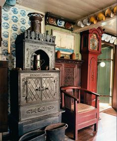 Vintage interior from World of Interiors