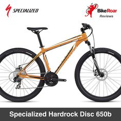 REVIEW: Specialized Hardrock Disc 650b: A robust, strong, but heavy mountain bike built by a respected leader in the industry.   LEARN MORE: http://www.bikeroar.com/products/specialized/hardrock-disc-650b-2016.   #specialized #hardrock #disc #mtb #mountainbike #crosscountry #hardtail #iamspecialized