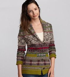 """Just bought this today. It is normally not """"my style"""" but I love it so much!! So cozy!!"""