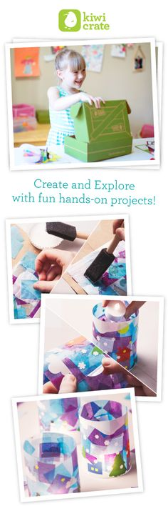 Spark your child's imagination and creativity with hands-on projects from Kiwi Crate! Learn more…