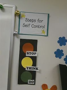 stop, think, do- steps for self control
