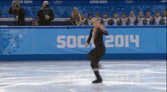 Evgeni Plushenko Figure Skating Routine In Sochi, Team [GIFs] - Business Insider