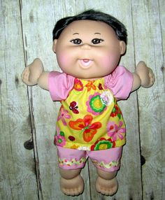 Cabbage Patch Babie Doll Clothes Flower and by Dakocreations