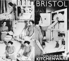 Pountney & Co. Ltd Fishponds - Catalogue of Kitchen-ware 1938 Kitchen Ware, Bristol, Catalog, Mid Century, Pottery, China, Vintage, Diy Kitchen Appliances, Ceramica
