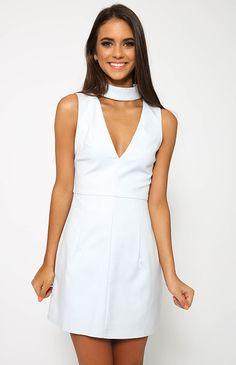 Regan Dress - Grey