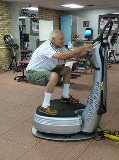 Personal POWER PLATE Vibration Platform Detoxify Increase Bone Density Strength