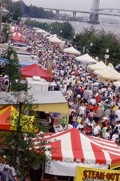 Riverfest, Wilmington, N.C.- Love festivals & their importance for the local economy!