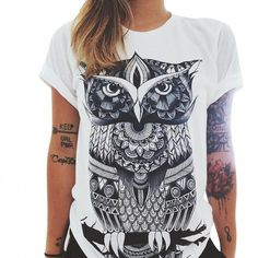 d75729dc1274 Extra Off Coupon So Cheap Summer Casual T-shirt Short Sleeve Printed Cotton  Blouse Top Shirt Tee