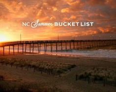 Make the most of your summer with the North Carolina Summer Bucket List, featuring 20 quintessential things to see and do from the mountains to the coast #NCbucketlist.