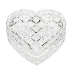 Lisbeth Dahl Clear Glass Box with Harlequin Pattern by Lisbeth Dahl. $13.99. A beautiful accessory for any bathroom or bedroom.. Measures 3.35 inches x 3.35 inches x 1.18 inches. Glass material. Lisbeth Dahl Clear Glass Box with Harlequin Pattern. This bathroom accessory helps bring that sophisticated and cozy glamour feeling into your bathroom in all its elegance, comfort and beauty. Made of a glass material. Measures 3.35-inch by 3.35-inch by 1.18-inch