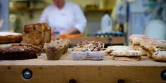 Town Mill Bakery, more cakes. Lyme Regis