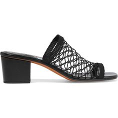 85a20981276 Chloé Mesh mules (£222) ❤ liked on Polyvore featuring shoes