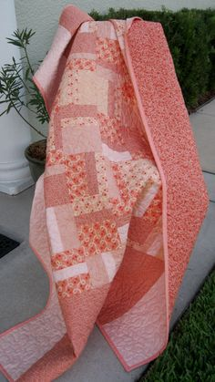 Lap Quilt - Gypsy Rose - Modern/contemporary
