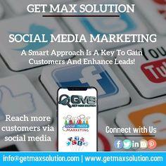 Reach more customers through our SOCIAL MEDIA MARKETING strategies. Digital Marketing Strategy, Marketing Strategies, Social Media Marketing