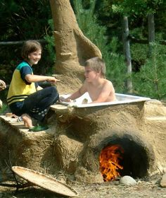 cob hot tub? go to cob houses on bing