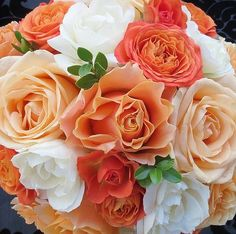 I like the different shades of coral's and peaches mixed with neutrals