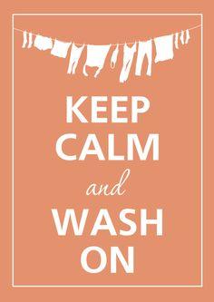 Washing on Saturday mornings, uggh*