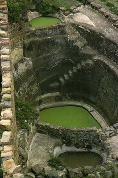 .Ancient water cisterns-I can't believe how beautiful and well preserved this is....think of the design alone...mind boggling...