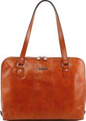 Tuscany Leather Ravenna Laptop Bag for Women Leather Laptop Bag, Leather Briefcase, Laptop Shop, Briefcase Women, Laptop Bag For Women, Ravenna, Italian Leather, Tuscany, Tote Bag