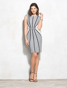 http://www.dressbarn.com/detail/black-and-white-textured-piped-dress/102129198/158
