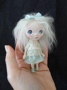 Mimí by Marina's art dolls, via Flickr