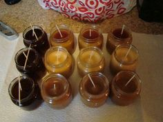8 hour recycled candles