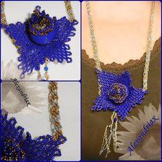 Crochet Necklace, Facebook, Jewelry, Fashion, Moda, Jewlery, Jewerly, Fashion Styles, Schmuck