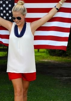 20 red white and blue outfits for the summer holidays #4thofjuly