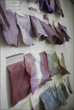 not sure if these are natural dyes but they're so beautiful ...