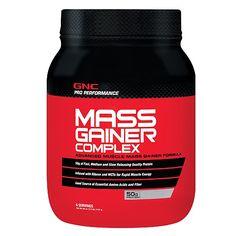 GNC Pro Performance® Mass Gainer Complex – Double Chocolate - GNC PRO PERFORMANCE - GNC