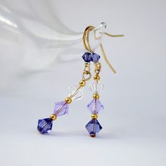 adding a bead on the earring finding - adds just one more touch of beauty