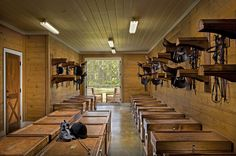 Cool and organized tack room