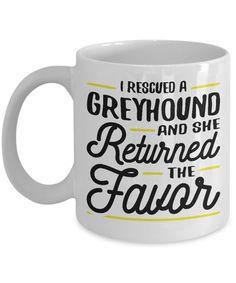 Siberian Husky Coffee Mug I Rescued A Husky And She Returned The