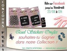 A tout de suite sur http://www.facebook.com/frexo.fr?ref=hl pour #Gagner un #Stickers #Ongles !!!