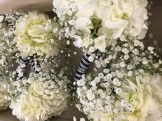 Bridesmaids bouquet  Nautical themed weddind at The Candlewood Inn- Brookfield CT