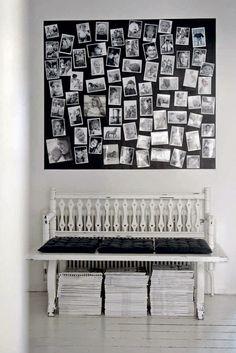 my scandinavian home: The striking monochrome home of a Swedish photographer