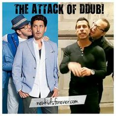 Donnie Wahlberg, Jonathan Knight, Danny Wood ~New Kids on the Block~