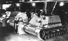 Sturmpanzers at Stahlindustrie Werk, Duisberg   WW2 tanks   Flickr